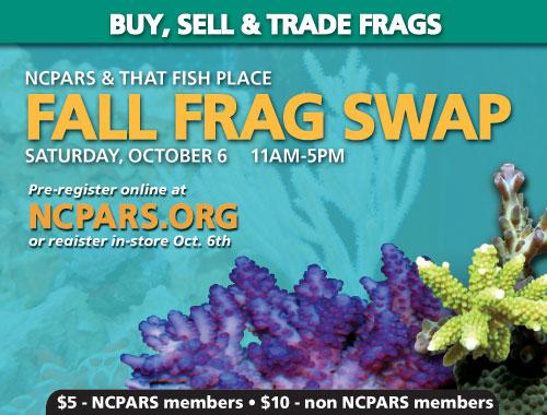 2012 TFP/NCPARS Fall Frag Swap